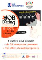 JOB DATING BOCAPOLE 19/10/2017