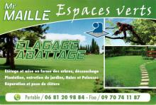 Logo MAILLE Espaces verts